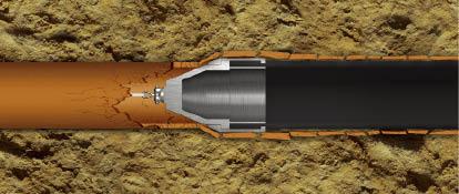 static.jpg & Miller Pipeline - Pipe Bursting Applications